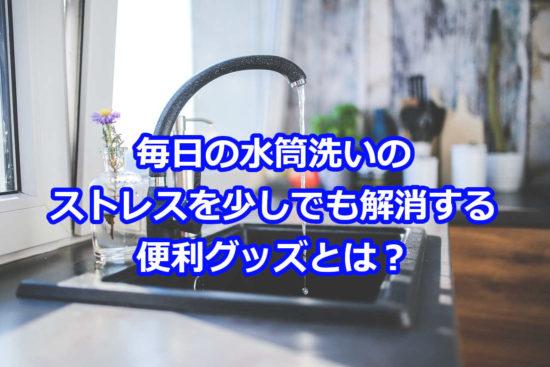 水筒を洗うのがめんどくさいときにストレスを軽減する便利グッズは?